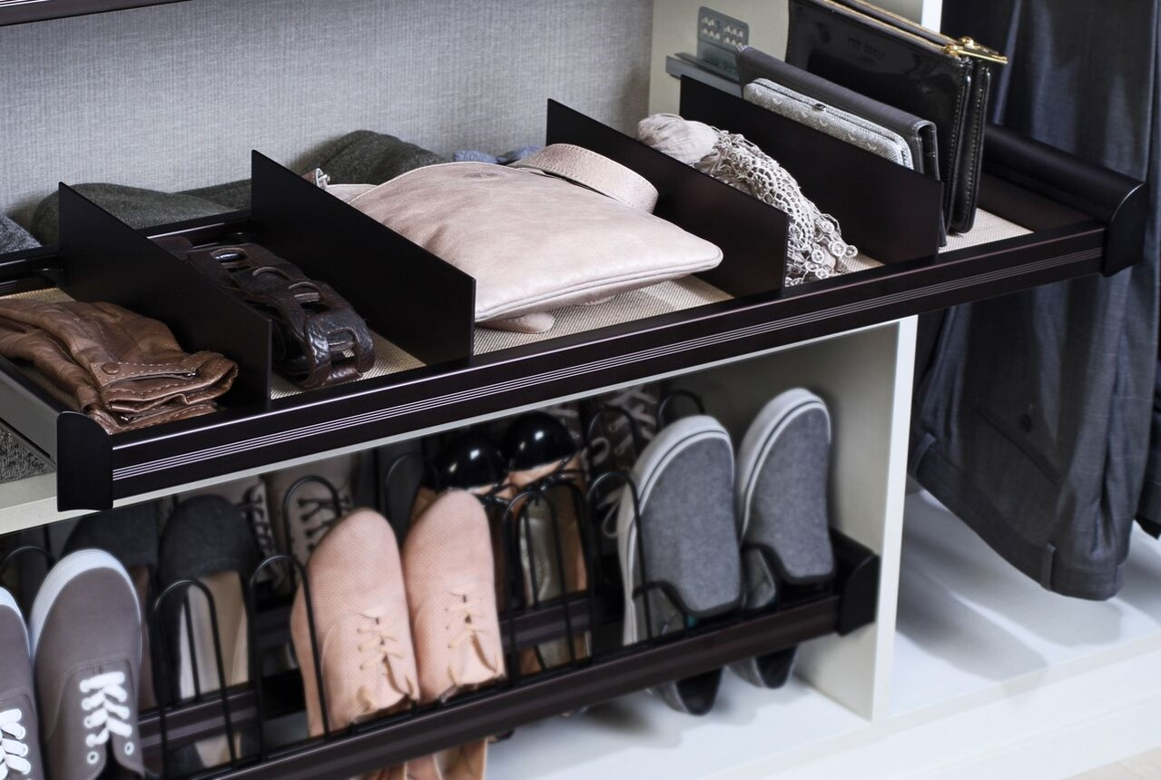Has your coat closet become a black hole of mess? Are there things piled on the floor, coats flung every which way, and random bits of life stuffed in every corner? It's amazing how much stuff can fit into an entry closet. Here are our best tips for stellar coat closet organization.