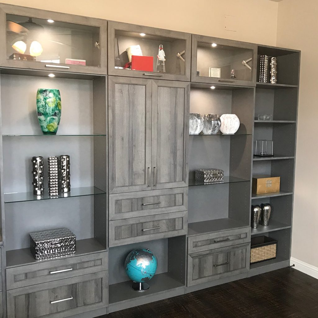 "The direction of the world today is ""work from home"". Closet Envy will spend time to see how you use your space during your daily routine. Our talented designers will help you create a designer office space that you want to work in. #designyourhappyplace #workfromhome #designeroffice"
