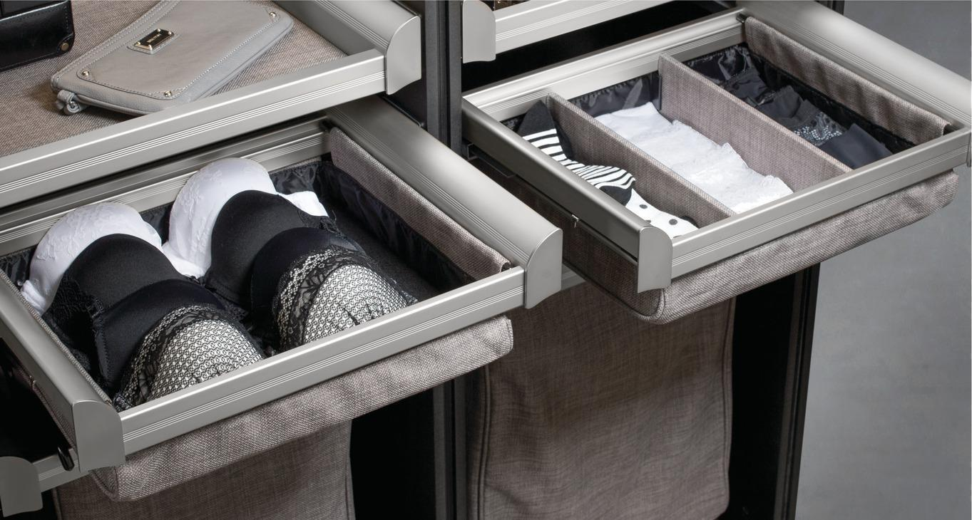Closets are so much more than hanging rods! Closet Envy can help you design a gorgeous closet to meet your every need. We have special dividers that will help you create organized drawers. #closetenvy #closetgoals #designyourhappyplace
